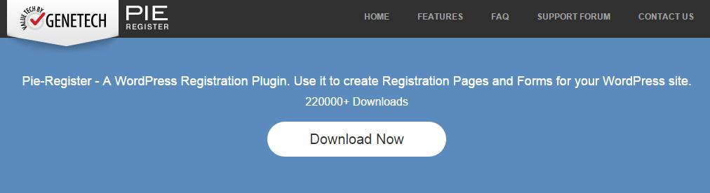 Pie Register Hero Image
