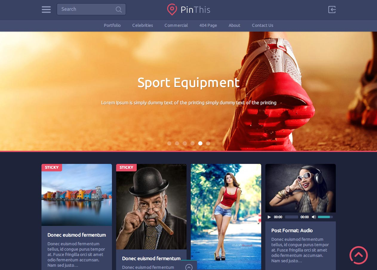 Google themes personalized homepage - Pinthis Is A Beautiful And Fast Loading Wordpress Theme Which Features Pinterest Style Design It S A Masonry Based Theme Which Features A Clean Design In