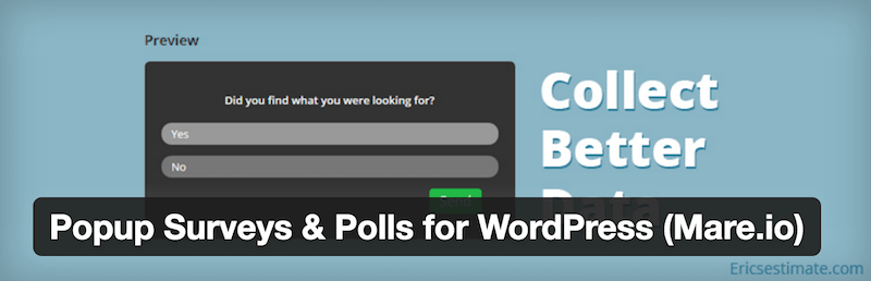 Popup Surveys & Polls for WordPress