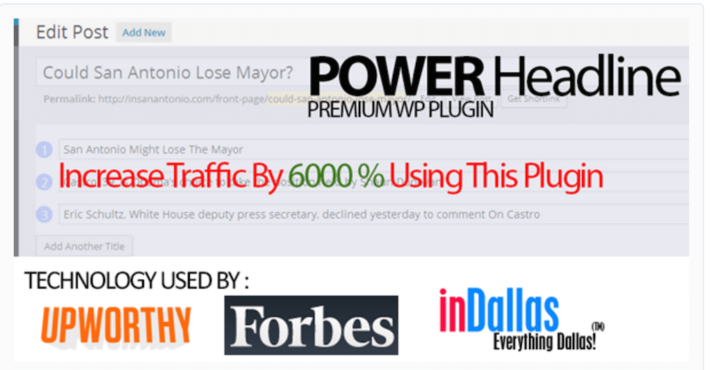 Power Headline - Headline Split Testing