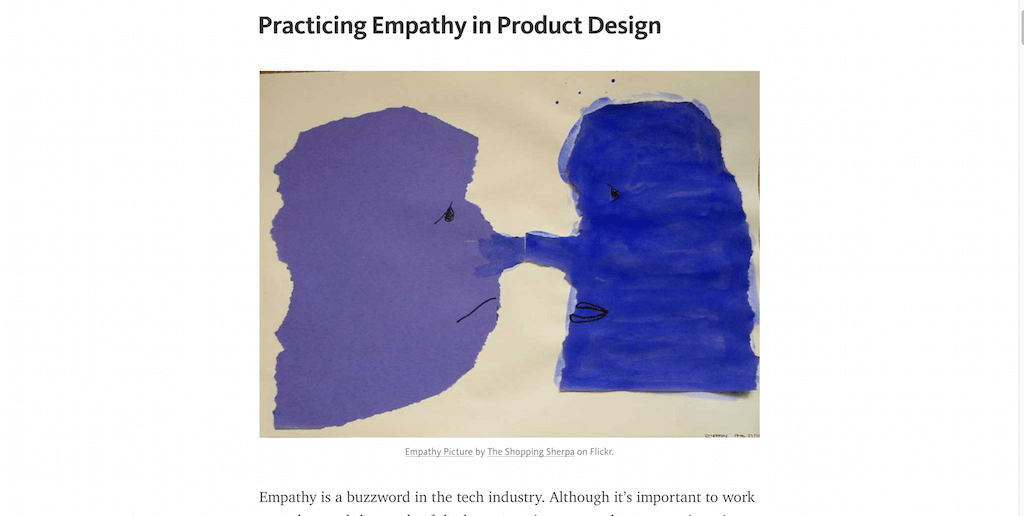 Practicing Empathy in Product Design
