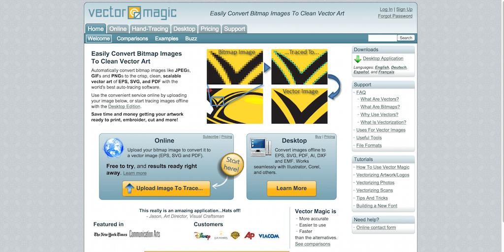 Precision Bitmap To Vector Conversion Online Vector Magic
