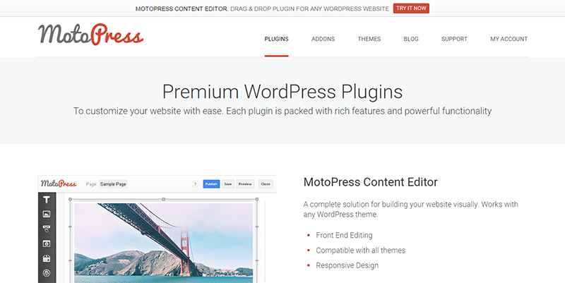 Premium WordPress Plugins I MotoPress