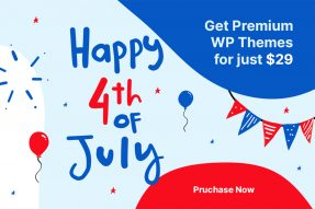 Premium WordPress Themes On 4th July Envato Sale