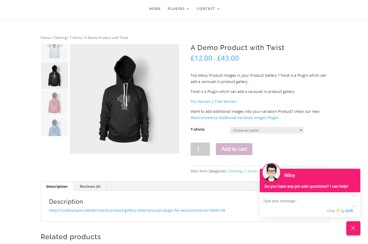 Functional WooCommerce Product Gallery Slider