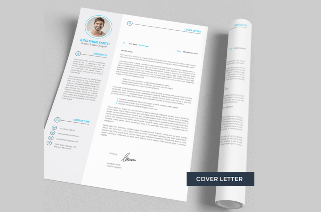 professional resume cv 4 pieces by naz drag studio - Free Job Resume Templates