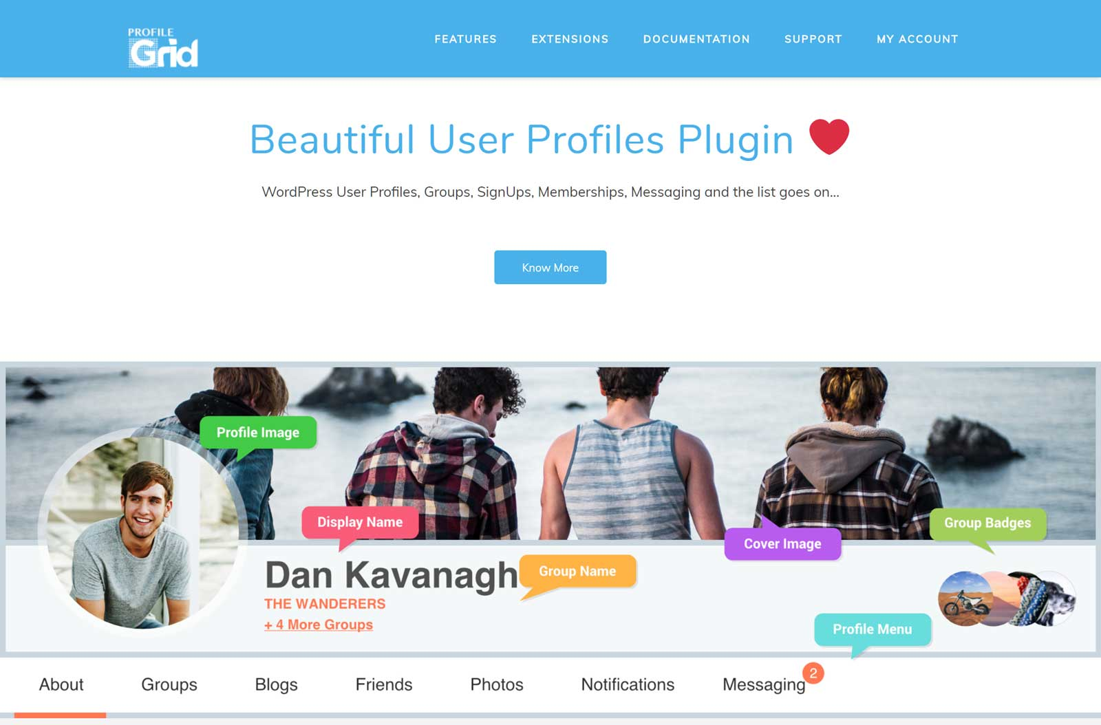 ProfileGrid Review – Improved User Profiles For WordPress