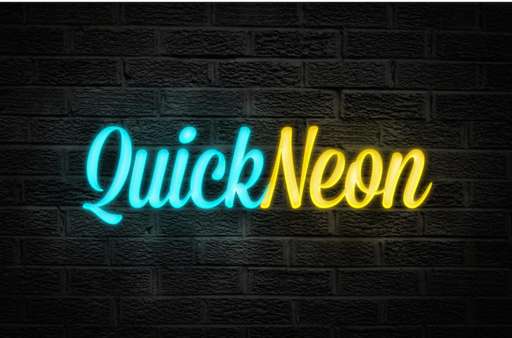 Quick Neon Effect