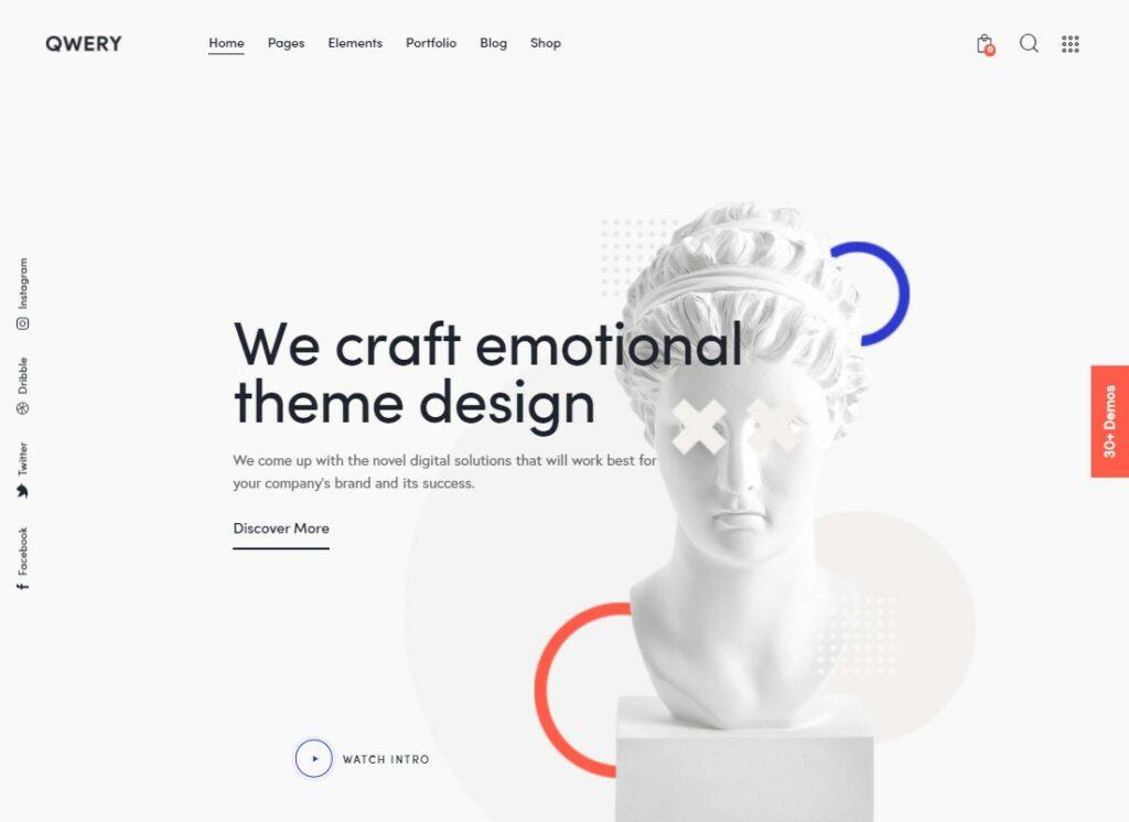Qwery   Multi-Purpose Business WordPress Theme + RTL