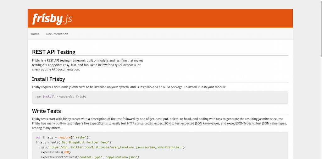 REST API Testing—Frisby.js