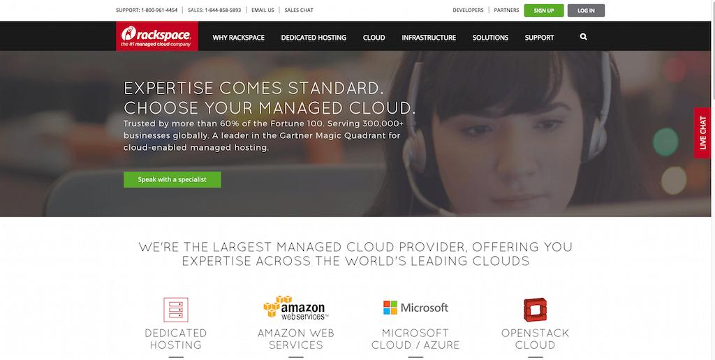 Rackspace Managed Dedicated Cloud Computing Services