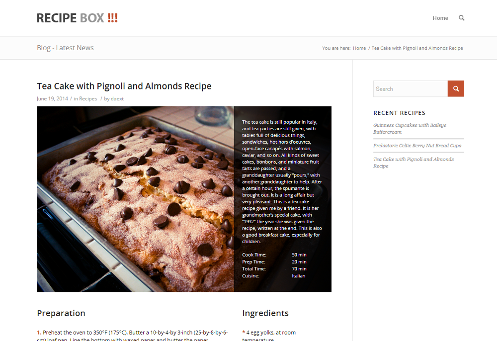 Best 15 wordpress recipe plugins recipe box forumfinder Images