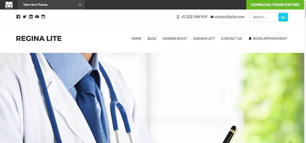 Regina Lite – Medical WordPress theme-min