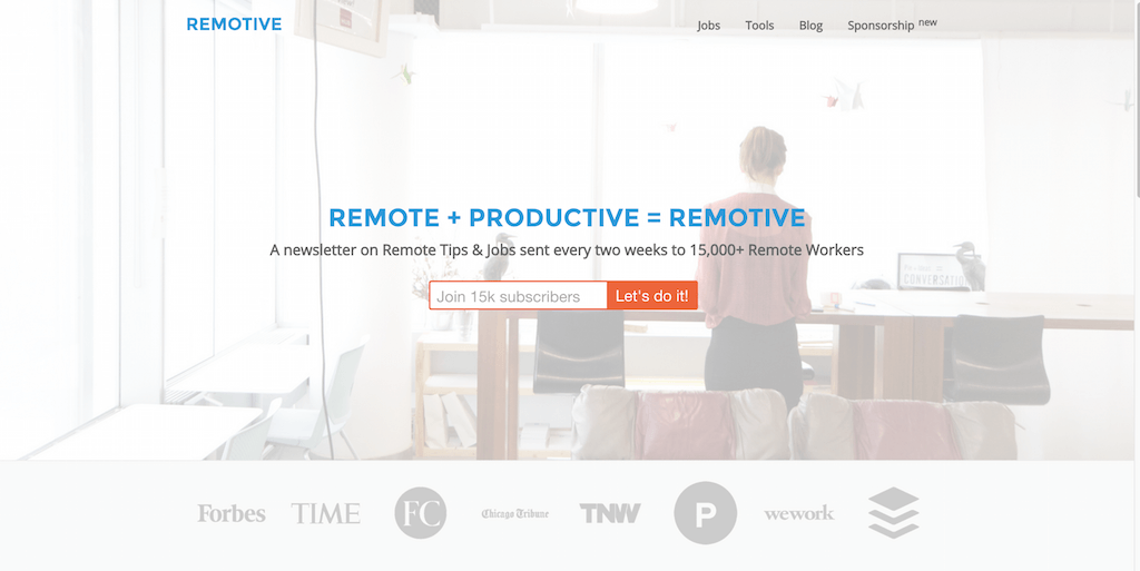 Remotive productive remote workers