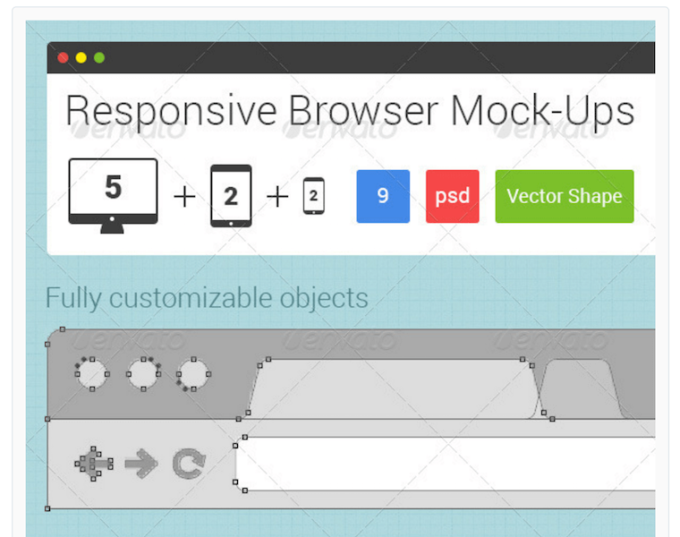 Responsive Browser Mock-Ups