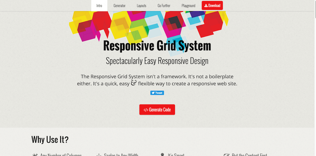Responsive Web Design just got Easier with the Responsive Grid System