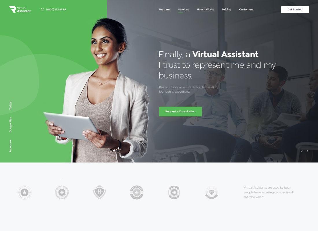 Revirta | Virtual Assistant WordPress Theme