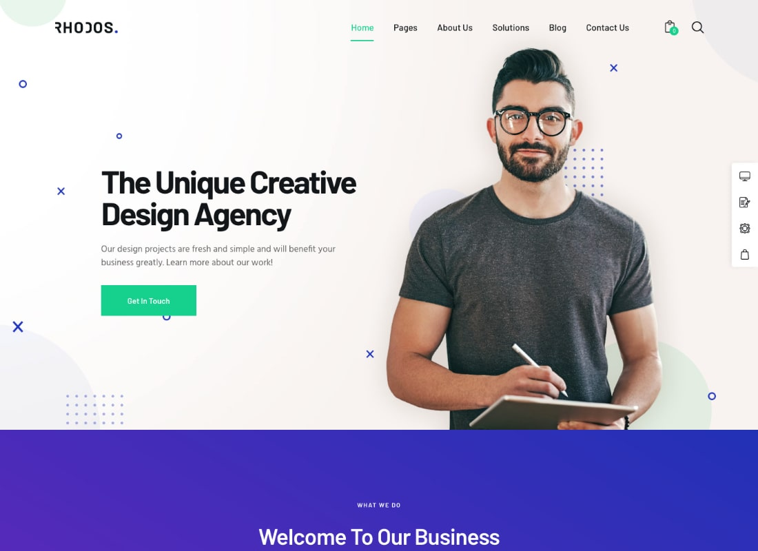 Rhodos | A Colossal Multipurpose WordPress Theme for Business & Portfolio