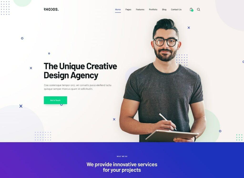 Rhodos | Multipurpose WordPress Theme for Business