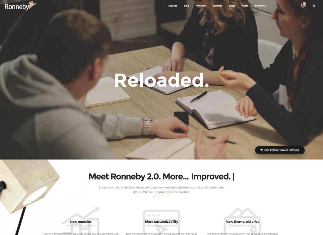 Ronneby | High-Performance WordPress Theme