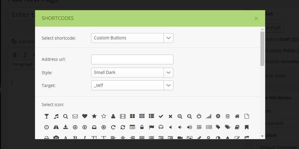 SOHO WordPress Theme Review Shortcodes