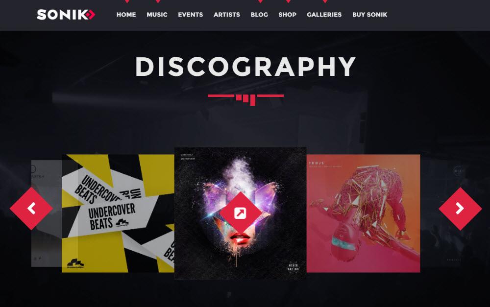 SONIK Discography
