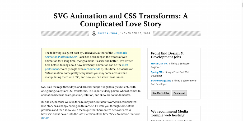 SVG Animation and CSS Transforms- A Complicated Love Story