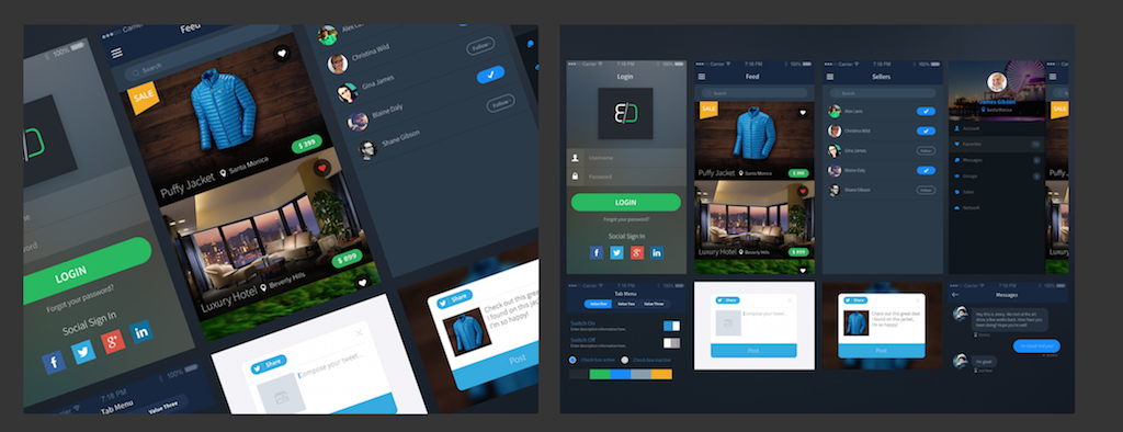 Sales App UI Kit