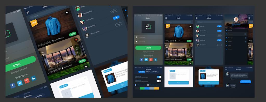 Sales App UI Kit