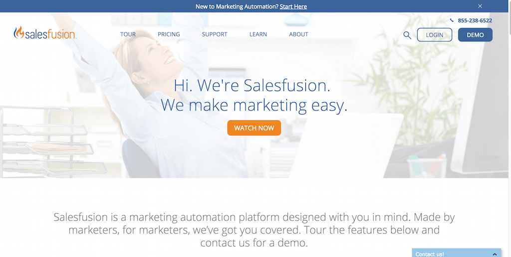 Salesfusion Marketing Automation