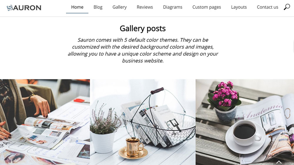 Sauron Multipurpose WordPress Theme