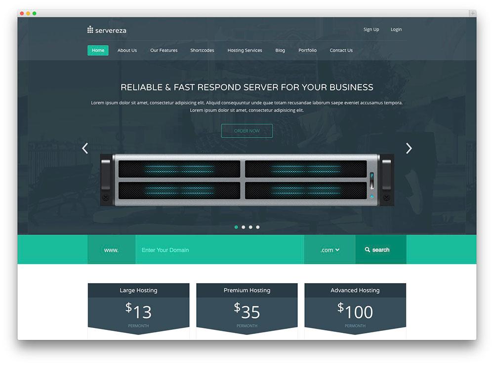 Servereza Web hosting htmee