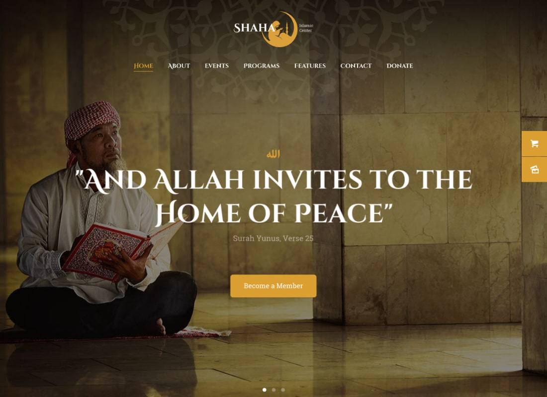 , 10+ Religious, Oriental and Buddhist WordPress Themes to Promote Your Church Website & Encourage Word of Mouth, Rojak WP