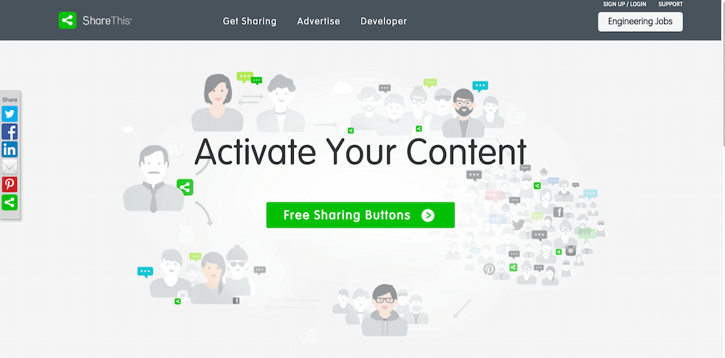 ShareThis Social Media Buttons Optimize Brand and Publisher Content