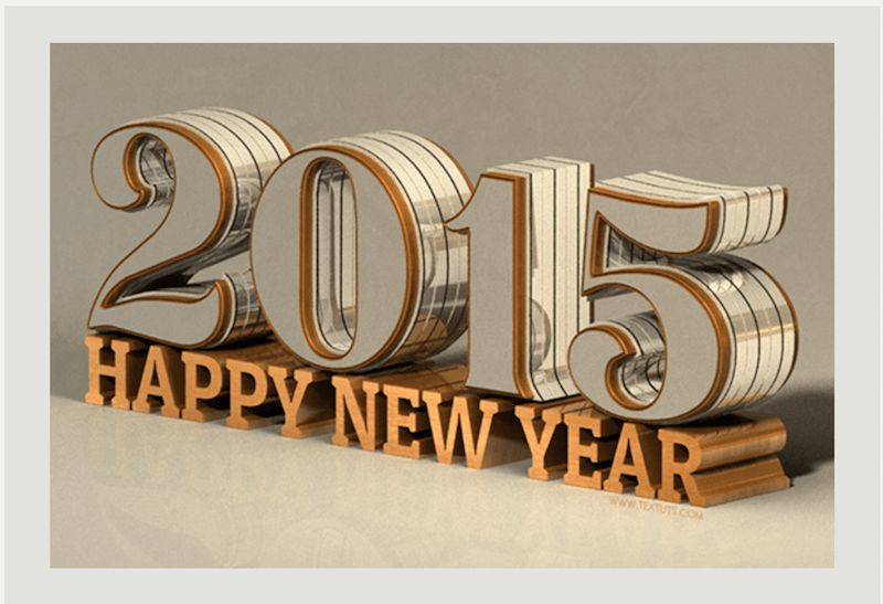 Shiny Reflective 3D Text Effect in Photoshop CC 2014