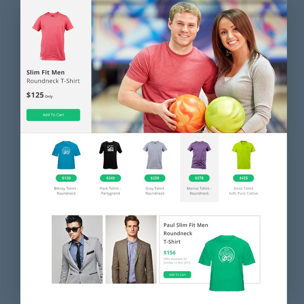 20 Free PSD eCommerce Templates - 2015 - Colorlib