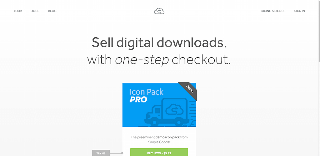 Simple Goods ecommerce for digital goods done right