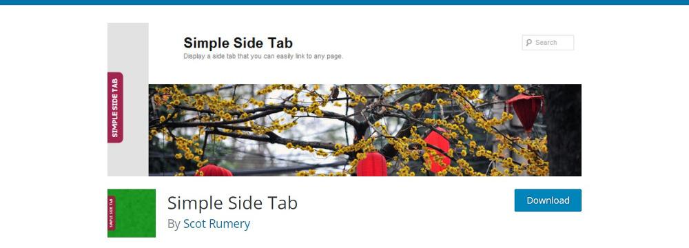 Simple Side Tab