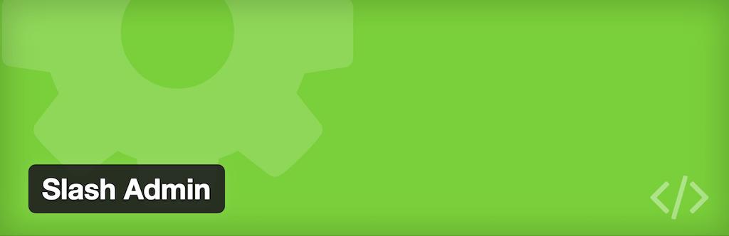 Slash Admin — WordPress Plugins