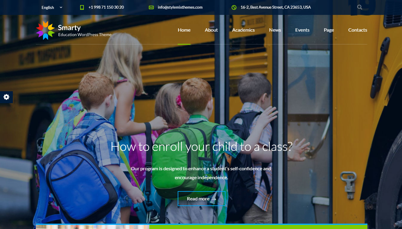Smarty Theme Review: Create An Education Website With WordPress