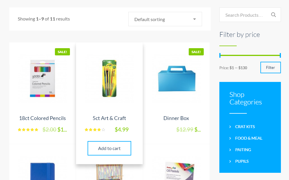Smarty Theme Review Shop
