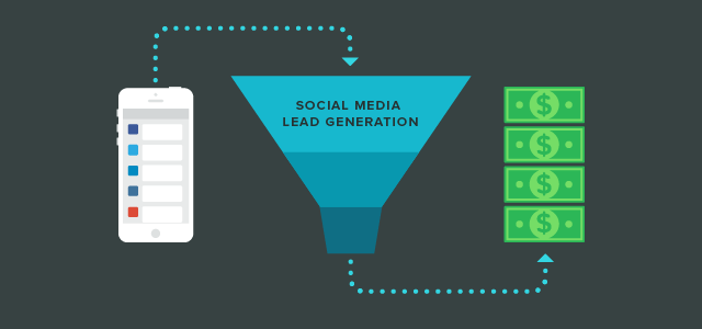 social media lead generation tips
