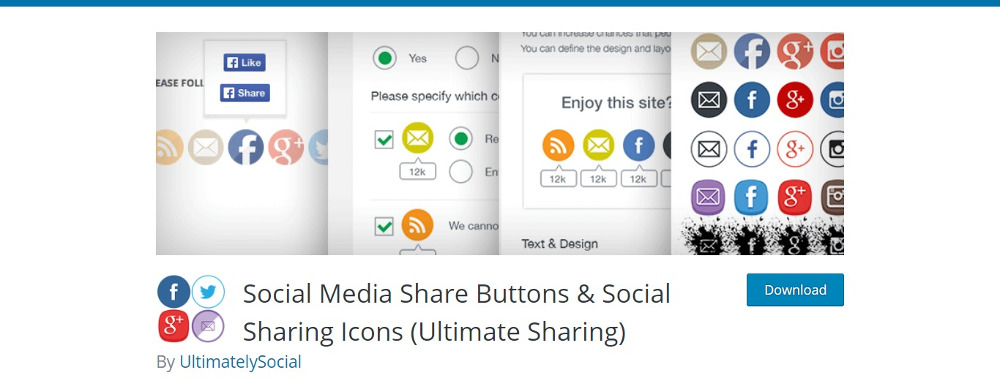 Social Media Share Buttons and Social Sharing Icons