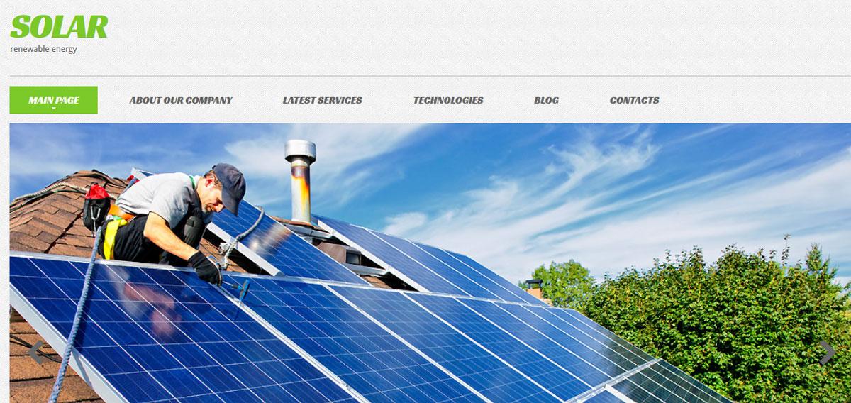 25 Best Alternative Energy Website Templates For Energy