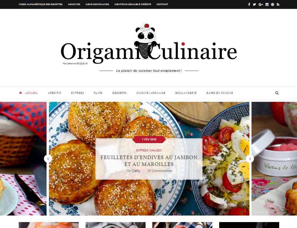 Soledad Theme Review Blog de comida francesa