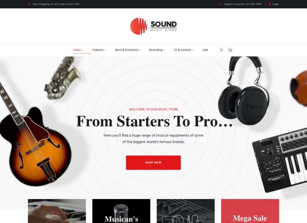 Sound Musical Instruments