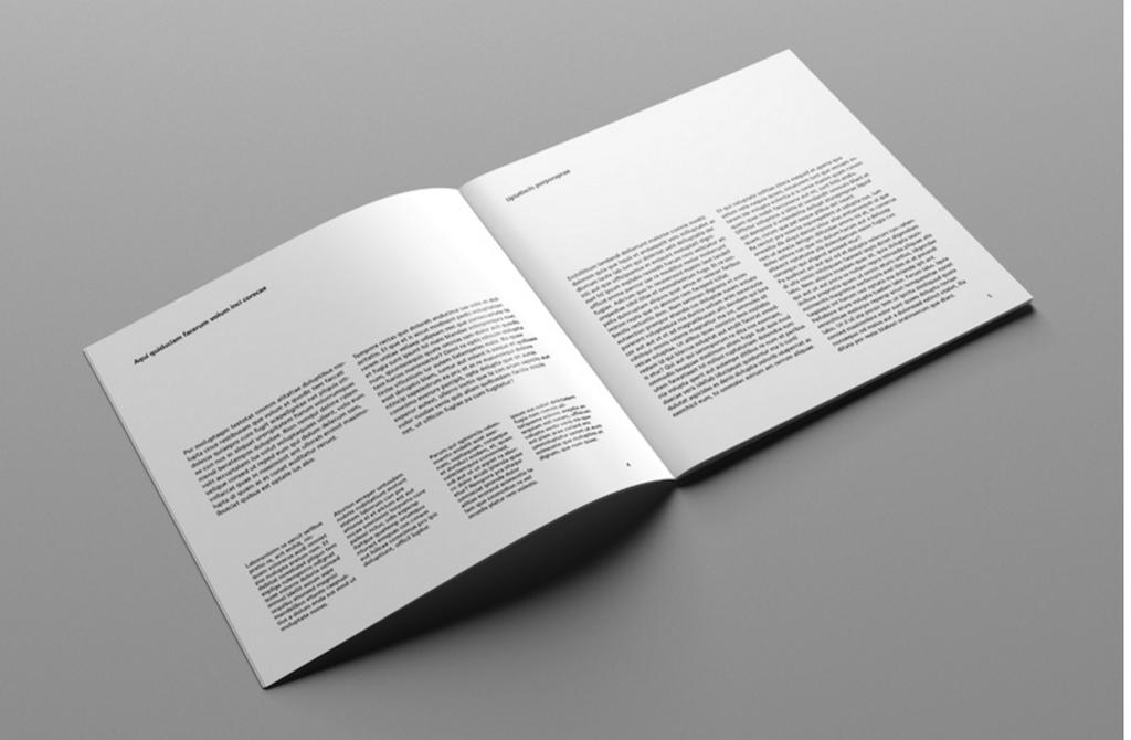 Catálogo cuadrado: Maqueta de revistas