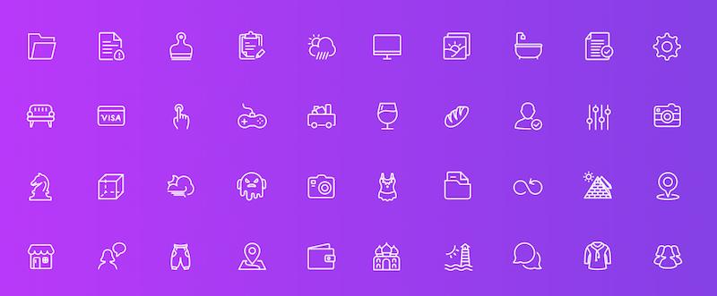 Squid Ink - Free Line Icons