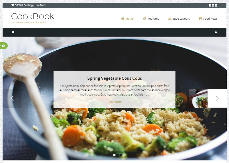 , How to Start a Food Blog Today with WordPress, Rojak WP