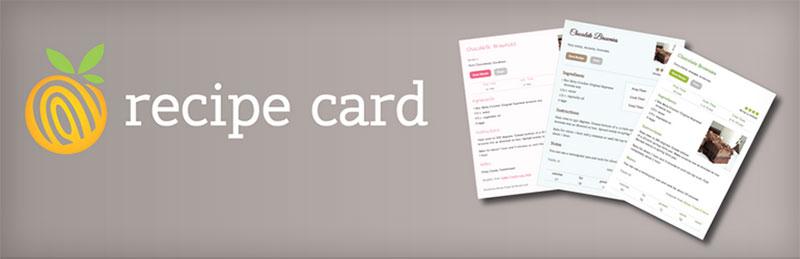 Start a Food Blog Recipe Card Plugin